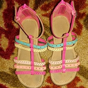 Children's place girls sandals